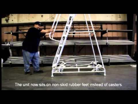 Ladder Industries Rolalift Floor Locking Device