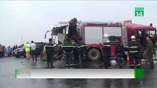 VTC14   Vụ xe cứu hỏa đi ngược chiều: Nên xem xét trách nhiệm cả 2 bên