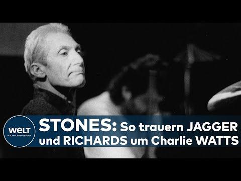 CHARLIE WATTS IST TOT: Rolling Stones - So trauern Mick Jagger und Keith Richards um ihren Drummer