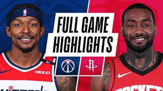 WIZARDS at ROCKETS | FULL GAME HIGHLIGHTS | January 26, 2021