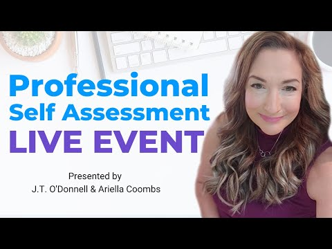 Professional Self Assessment Live Event - JOIN ME! photo