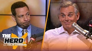 Chris Broussard says Warriors were 'rusty and complacent' in Game 1, talks Rockets | NBA | THE HERD