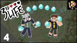 Minecraft 3rd Life SMP | Ep 04 - Farming Diamonds The Easy Way!