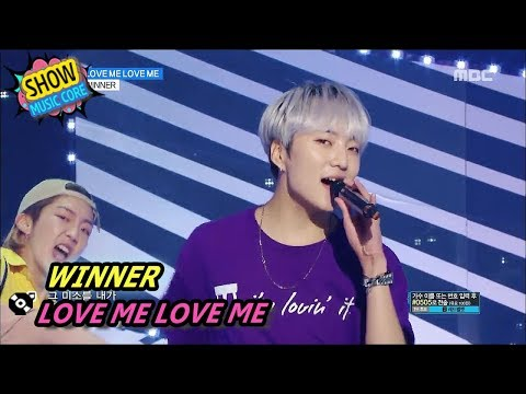[Comeback Stage] WINNER - LOVE ME LOVE ME, 위너 - 럽미럽미 Show Music core 20170805