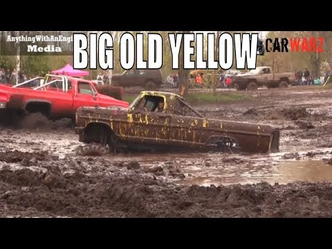 Big Old Ford Finds The Hole At Mud Madness Spring Opener 2019