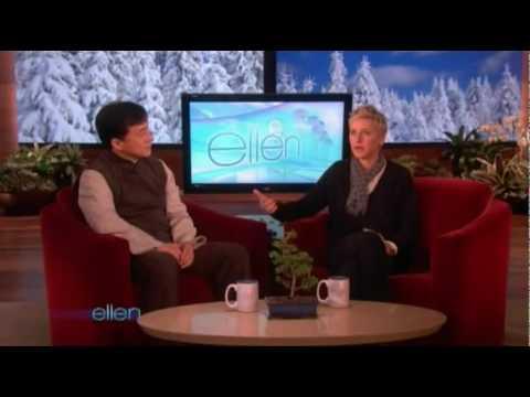 Jackie Chan Ellen DeGeneres Interview 8/01/2010 (Full)