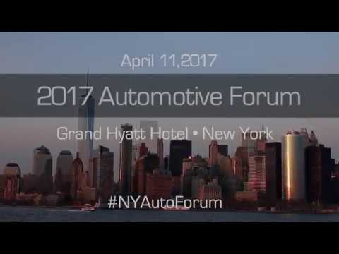 2017 Automotive Forum New York
