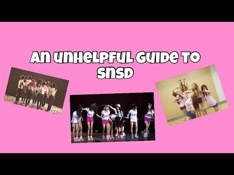 unhelpful guide to snsd (ot9)