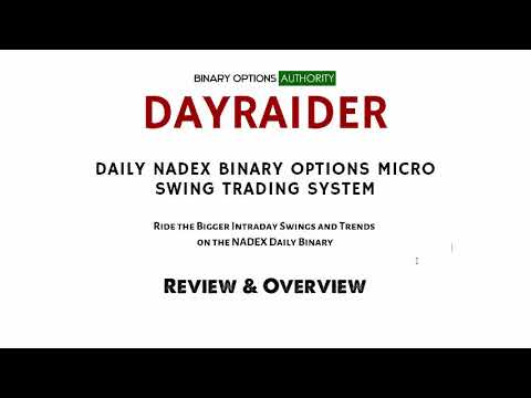 DAYRAIDER   DAILY NADEX Binary Options MICRO SWING TRADING System Review