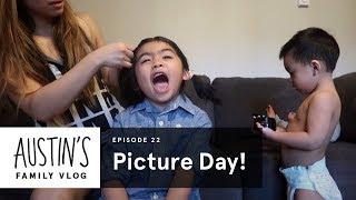 Austin's School Picture Day | Austin Vlog | HiHo Kids