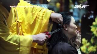 (VTC14)_Con gái PGS Văn Như Cương xuống tóc vì bố khỏi bệnh