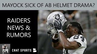 Raiders Rumors: Mike Mayock Is Sick Of Antonio Brown Helmet Drama + Anthony Rush & Nick Nelson News