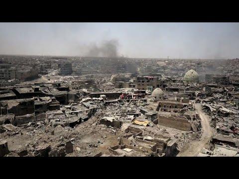أحياء الموصل القديمة تحولت إلى ركام بفعل المعارك مع داعش