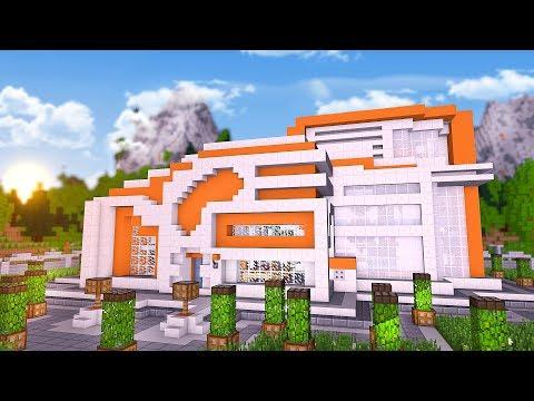 Modernste villa der welt innen  ICH SCHENKE IHR DAS MODERNSTE HAUS IN MINECRAFT! - Youtube Trends