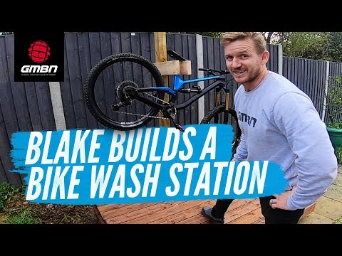 How To Build A DIY Bike Wash Station | Blake Builds