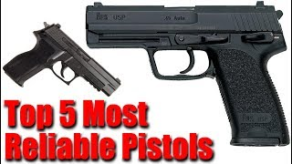 Top 5 Most Reliable Handguns Of All Time