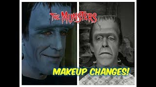 MAJOR MAKE-UP Changes You Probably DID NOT Notice on the Munsters TV SHOW!
