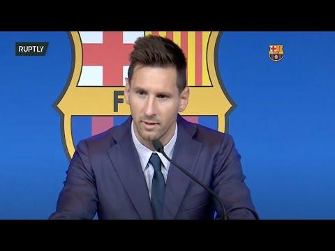 LIVE: Lionel Messi gives press conference on leaving FC Barcelona (ORIGINAL)