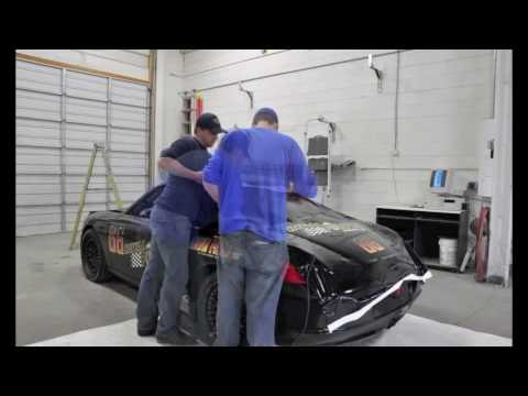 Chris Prey Porsche Wrap Time Lapse
