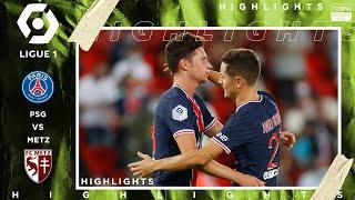 PSG 1-0 Metz - HIGHLIGHTS & GOALS - (9/16/2020)
