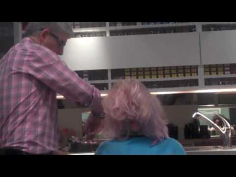 Scott cuts Wig inspired by Oribe Training