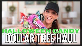 DOLLAR TREE HALLOWEEN CANDY HAUL | MY GAG REFLEX COULDN'T DO IT...