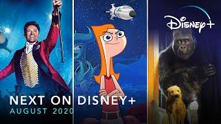 Next On Disney+ - August 2020 | Disney+ | Now Streaming