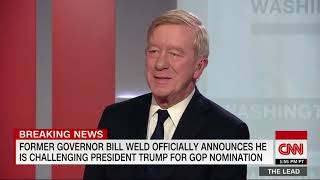 Bill Weld launches campaign for 2020 Republican nomination