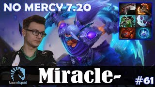 Miracle - Anti-Mage Safelane | NO MERCY 7.20 Update Patch | Dota 2 Pro MMR Gameplay #61