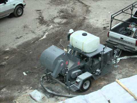 Blastcrete D3522-MP - Variable Speed Concrete Mixer Pump