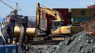 В Артеме приступили к строительству терминала для охлажденной продукции
