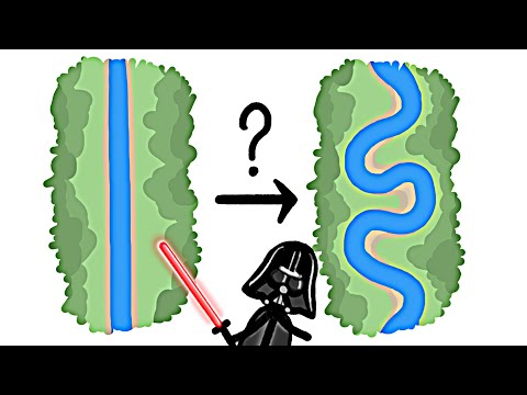 Why Do Rivers Curve?