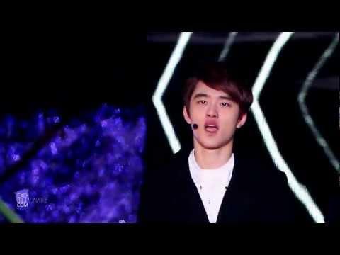 EXO-K D.O. / MBC 가요대제전 in 임진각 History D.O. ver - 20121231