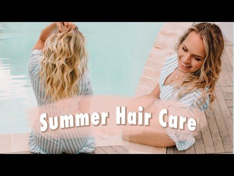 Summer Hair Care Tips for the Beach and Pool - Kayley Melissa
