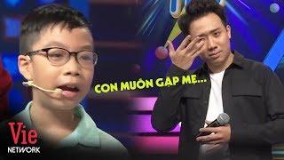 Trả lời 10 câu cực nhanh, bé trai khiến Trấn Thành xúc động khi muốn gặp mẹ đầu tiên | NNCN Mùa 2