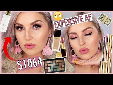Full Face of MY MOST EXPENSIVE MAKEUP! ?? Luxury & High End