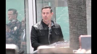 Carson Daly at the NSYNC Reunites for Hollywood Walk of Fame Star Ceremony