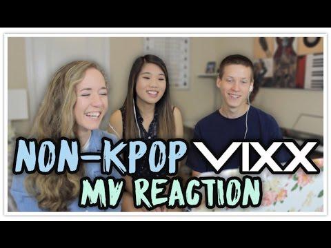 Non-KPOP VIXX MV Reaction | Getting Friends Into KPOP #4