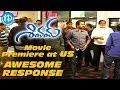Ram's Shivam movie premiere at US-Good response at the theatre