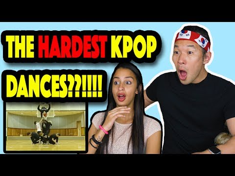 THE HARDEST KPOP DANCES REACTION VIDEO!