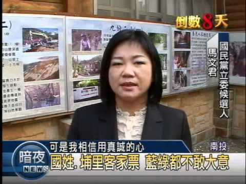 《決戰101》 投1選區 馬文君求連任.張國鑫拚出線