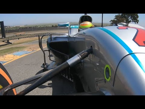Ride Onboard as Esteban Gutierrez Tackles Sonoma Raceway in W07!