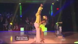 Rick Fox & Cheryl Burke Samba