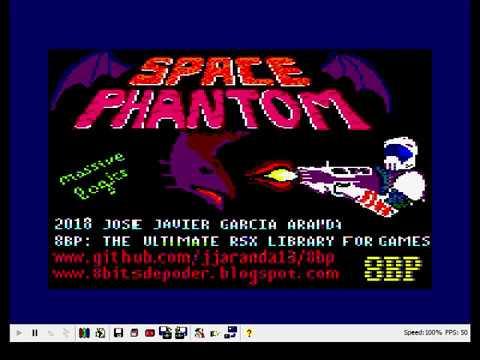 """Nuevo Juego """"SPACE PHANTOM"""" para AMSTRAD en BASIC usando 8BP"""