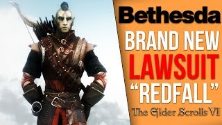 "Bethesda Facing Lawsuit Over Proposed The Elder Scrolls 6 ""Redfall"" Trademark"