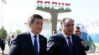 Таджикистан Кыргызстан обсуждают