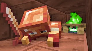 I gave Copper Ore an Update for Minecraft...