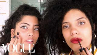 French-Cuban Sisters Ibeyi Do Their Going Out Beauty Routine | Beauty Secrets | Vogue
