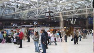 Earthquake at Glasgow Central Station