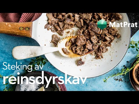 Steke reinsdyrskav | MatPrat